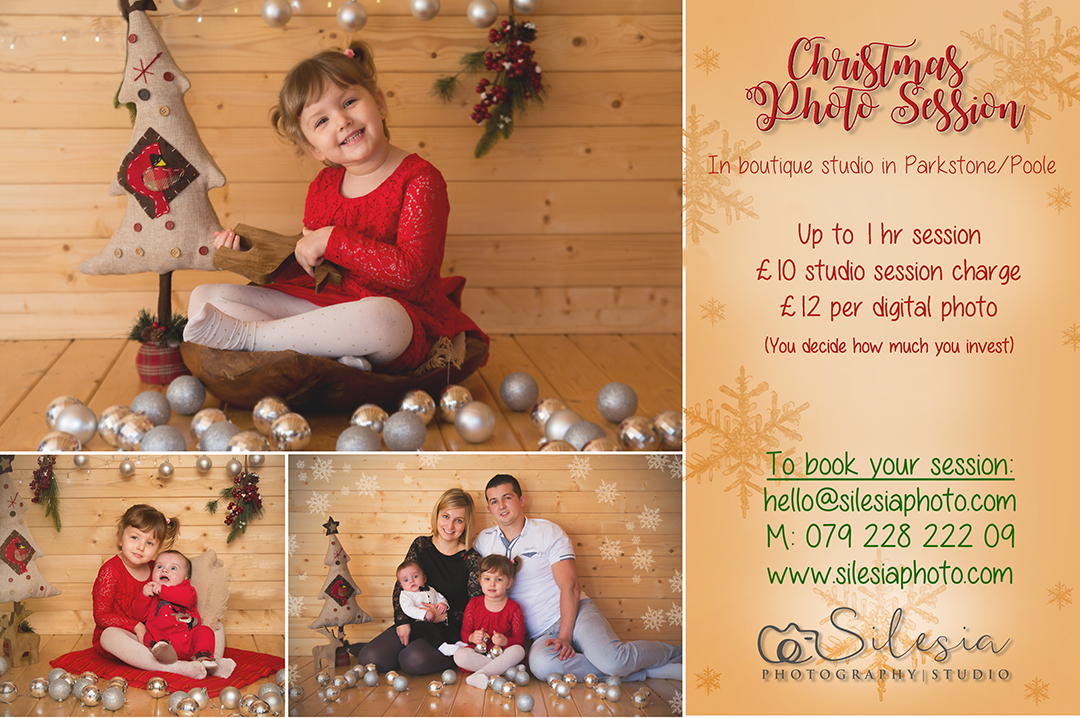CHRISTMAS SESSION IN STUDIO POOLE