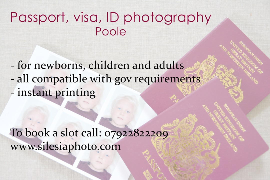 Passport photography Poole and Bournemouth