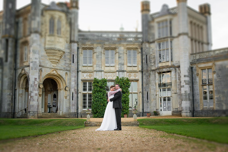 Wedding in Highcliffe Castle