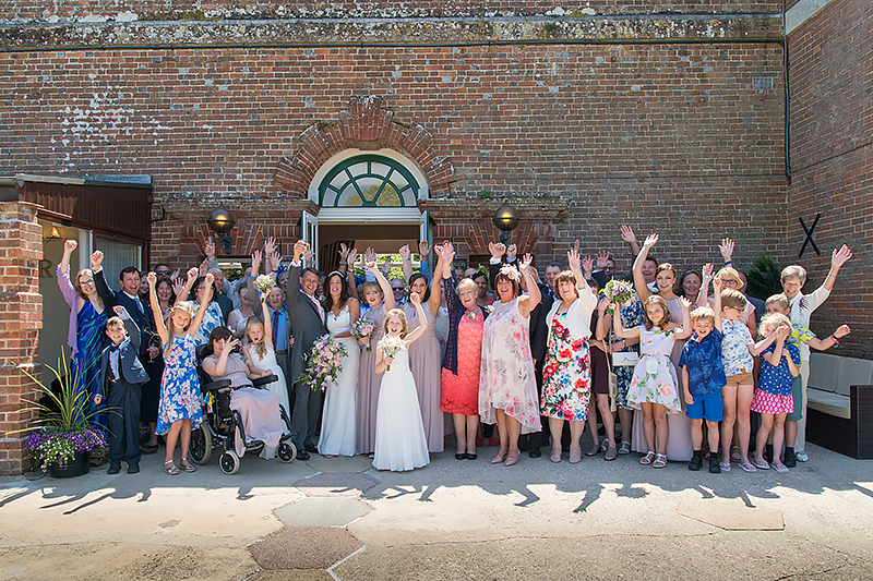 Orangery Suite Wimborne Wedding (89)